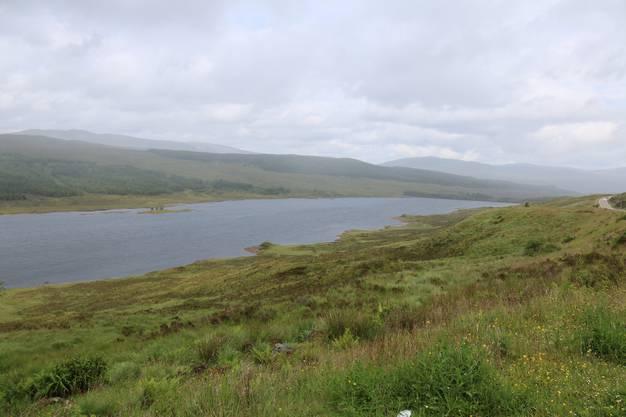 Keine Häuser, keine Menschen – die Highlands sind eine noch unberührte Gegend Bild: David Coulin