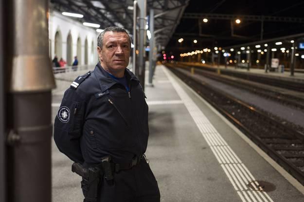 Jean-Luc Boillat ist Kommandant des Grenzwachtkorps Brig.