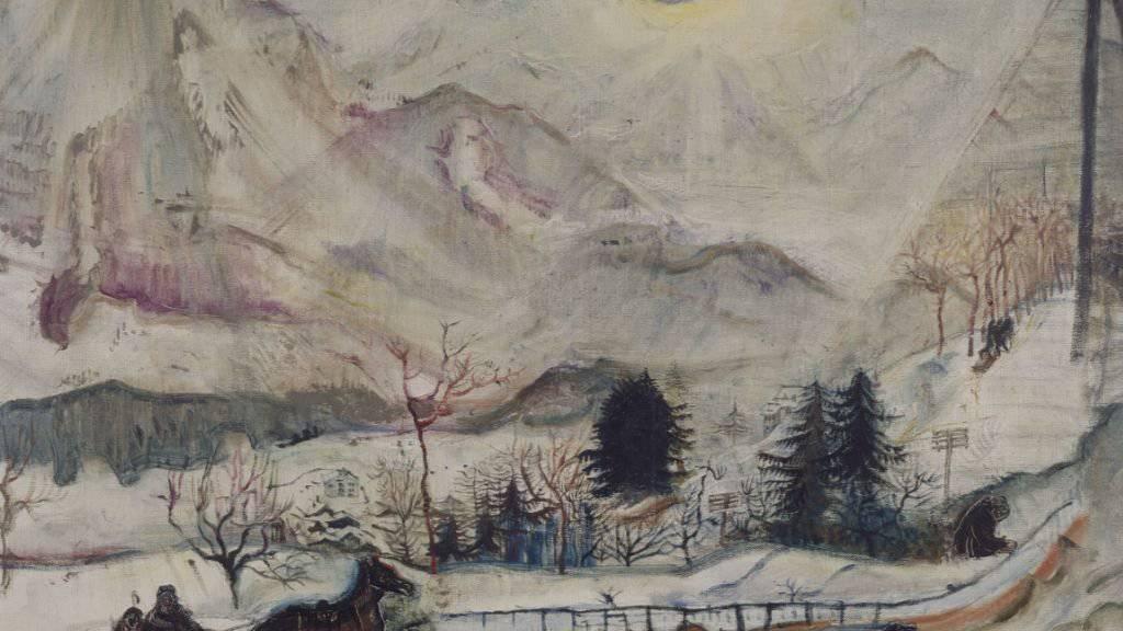 Das Gemälde «Les Dents du Midi» (1910) ist vom 14. Dezember 2018 bis 10. März 2019 im Kunsthaus Zürich in der Ausstellung «Okskar Kokoschka. Eine Retrospektive» zu sehen.