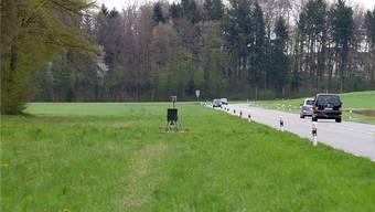 Die am besten getarnte Radarfalle im Aargau