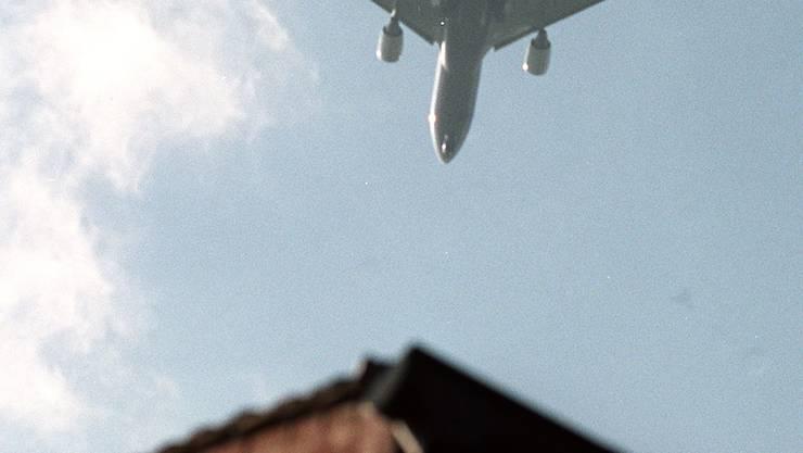 Es gab wieder mehr Südanflüge auf den Euroairport. (Archiv)