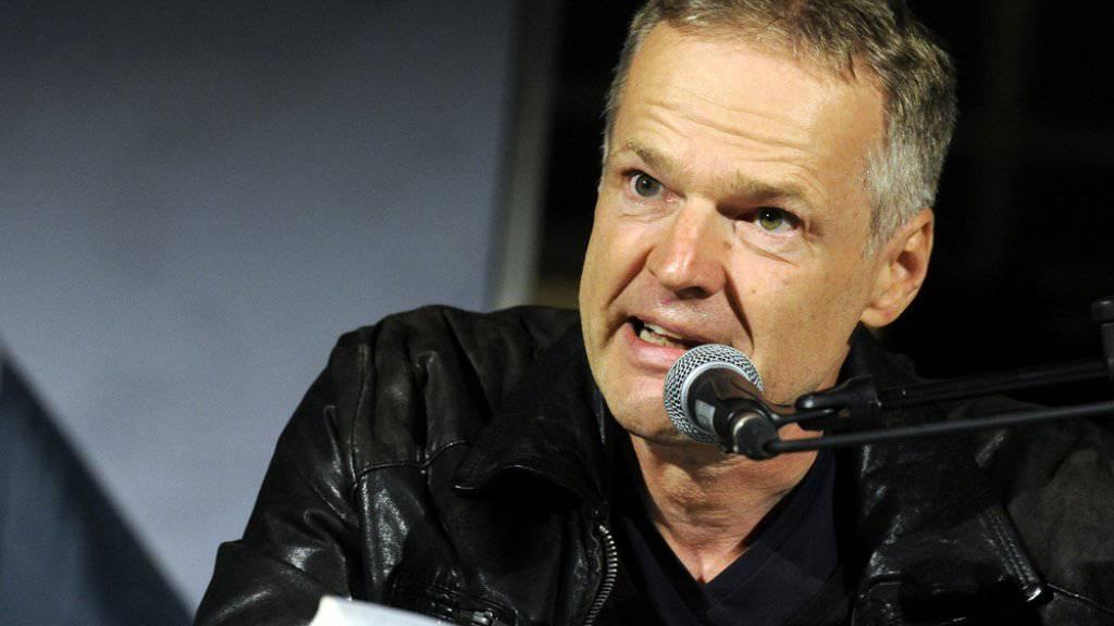"""Der österreichische Schriftsteller Wolf Haas erhält den """"Jonathan Swift"""", den internationalen Literaturpreis für Satire und Humor 2016. (Archiv)"""