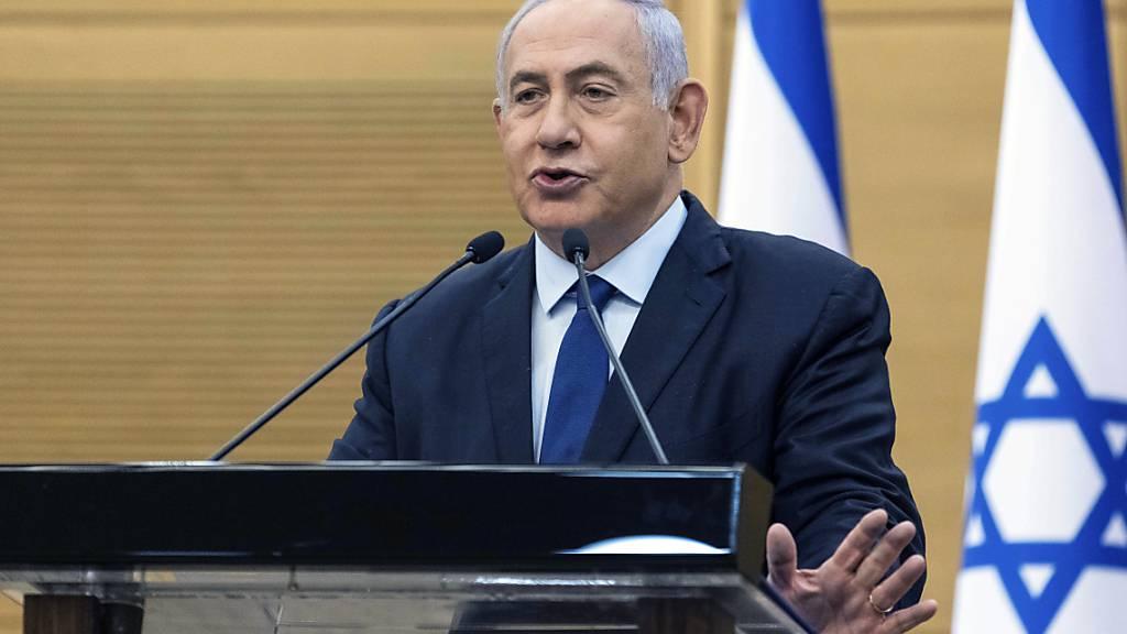 In Israel zeichnet sich eine Koalition zur Ablösung des rechtskonservativen Ministerpräsidenten Netanjahu ab. Foto: Yonatan Sindel/Pool Flash 90/AP/dpa Foto: Yonatan Sindel/Pool Flash 90/AP/dpa
