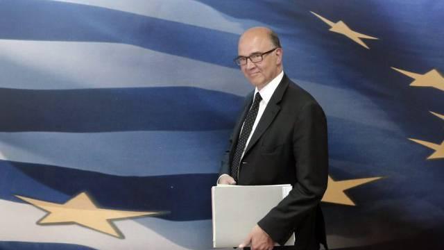Pierre Moscovici während eines Besuchs in Griechenland (Archiv)