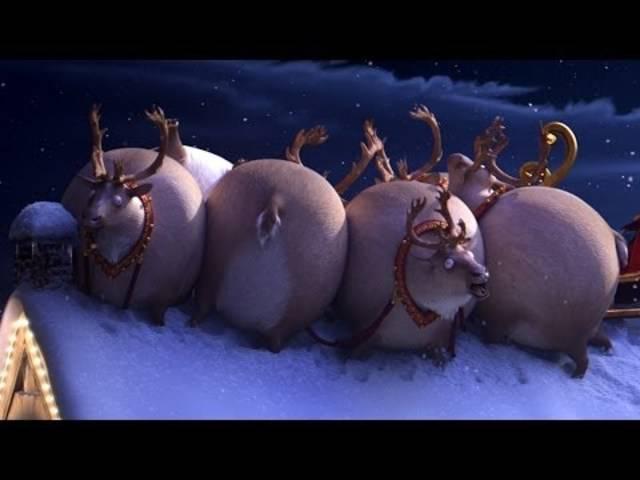 Runde Rentiere: der Weihnachts-Clip 2013