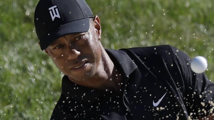 Tiger Woods zeigt sich trotz mangelnder Wettkampfpraxis in guter Form