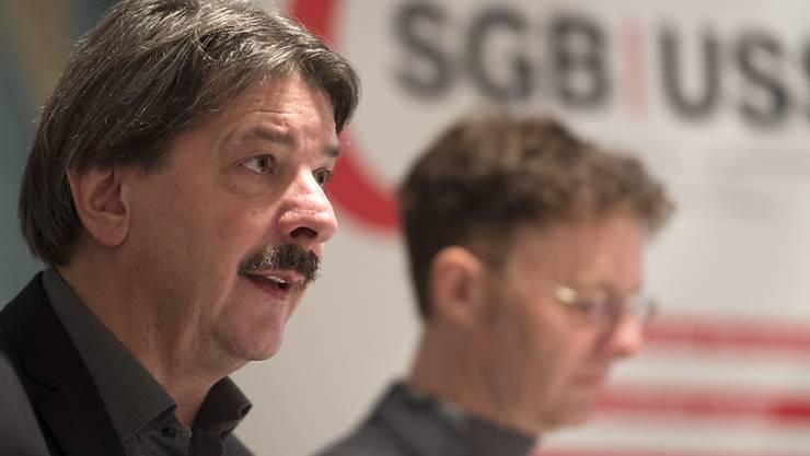 Nach zwanzig Jahren sei es der richtige Moment, um das SGB-Präsidium abzugeben, sagt Paul Rechsteiner. (Archiv)