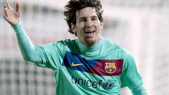 Messi traf in dieser Saison schon zum 26. Mal