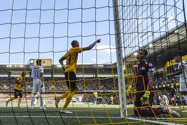 Es kommt noch besser: Das 4:0 gegen den FCZ lässt nicht nur Guillaume Hoarau jubeln.
