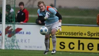 Silvan Geissmann steht wieder beim SC Schöftland zwischen den Pfosten.