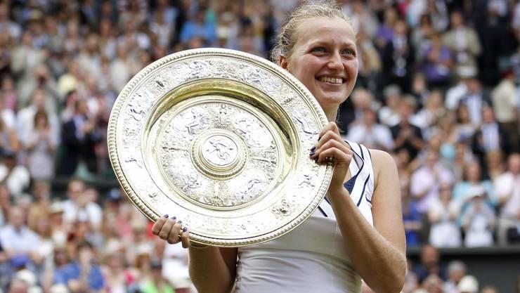 2011 gewann Petra Kvitova zum ersten Mal in Wimbledon.
