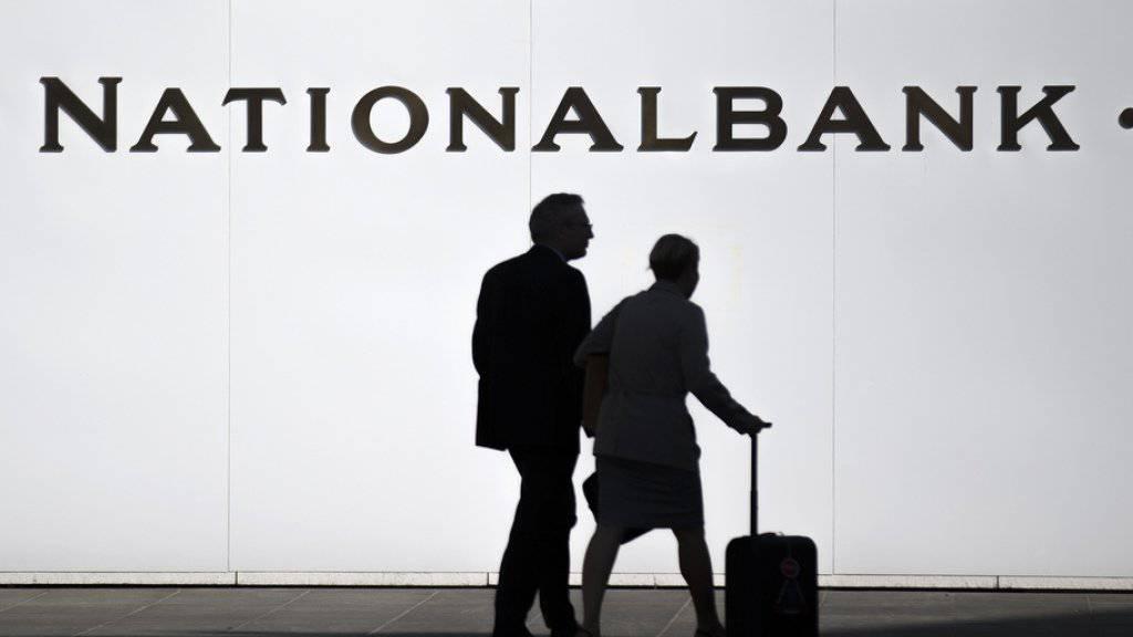 Die Schweizerische Nationalbank hält an ihrem Kurs fest. Im Bild der Sitz in Bern.
