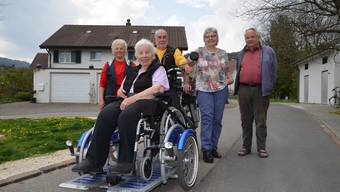 Rollstuhlvelo Altersheim Schenkenbergertal