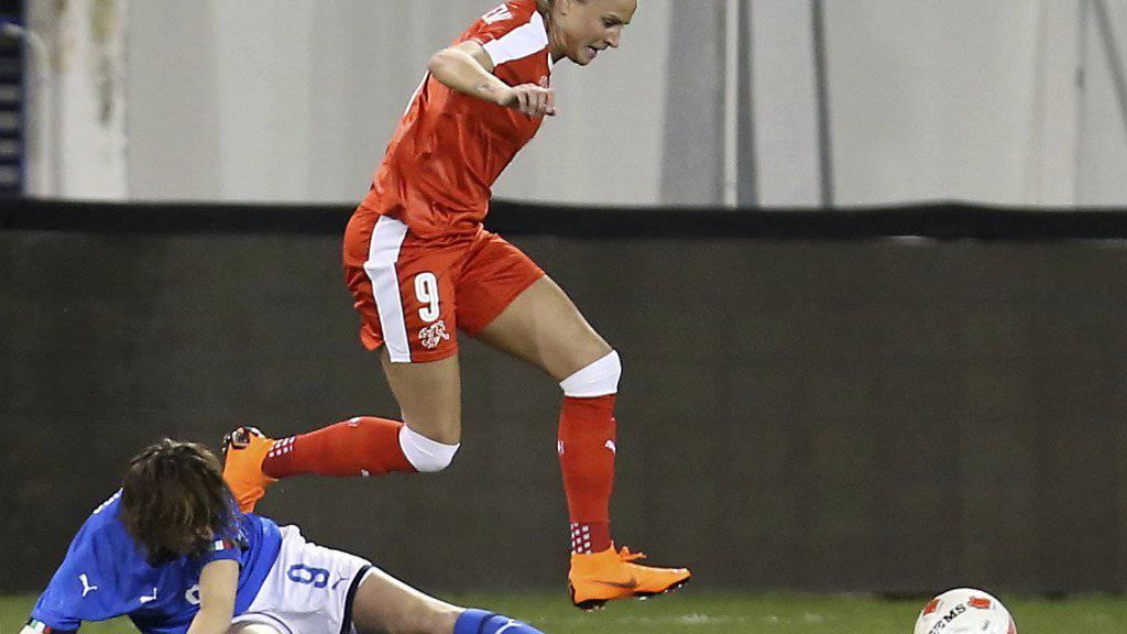 Ana Maria Crnogorcevic muss sich für das Schweizer Nationalteam ins Zeug legen