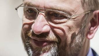 Der wiedergewählte EU-Parlamentspräsident Martin Schulz