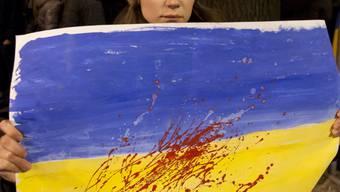 Blut auf dem Wappen - Eine Frau gedenkt der Gewalt in Kiew