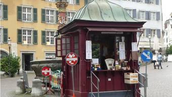 Das Marroni-Häuschen in Solothurn ist das Vorbild des Projekts.