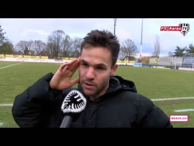 Interviews mit Doppeltorschütze Patrick Rossini sowie mit Cheftrainer Marco Schällibaum nach dem 3:1-Sieg gegen Schaffhausen.