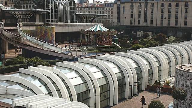 Neues Glasdach für Les Halles (Archiv)
