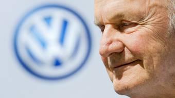 """""""Automobillegende"""", """"Titan der Autowelt"""" , """"grosser Unternehmer"""": Die Autowelt würdigt den verstorbenen langjährigen VW-Chef Ferdinand Piëch. (Archiv)"""
