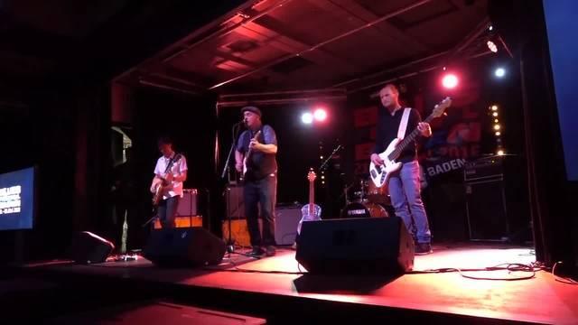 Blues at its best - die Copenhagen Slim Band spielt zum Auftakt des Blues Festivals Baden 2018 im Kulturlokal.