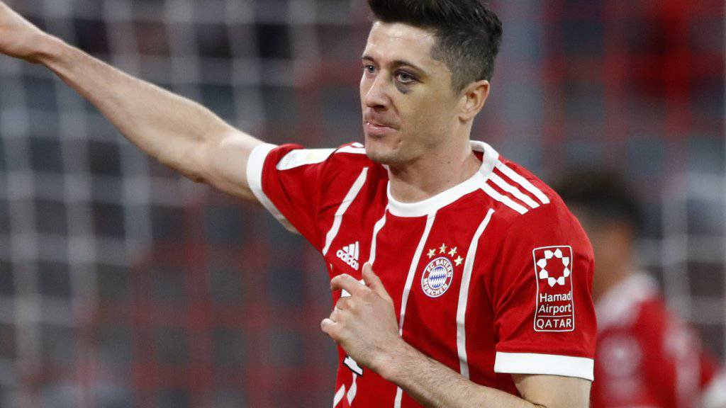 Goalgetter Robert Lewandowski könnte Bayern München verlassen