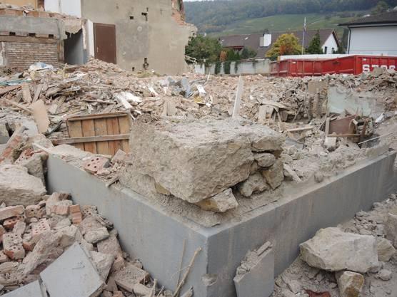 Für den Abriss des historischen Hofs gab es keine Baufreigabe.