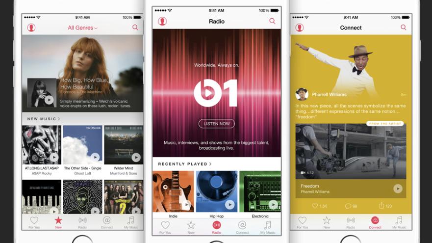 Vernetzt: Apple Music nur mit Update auf iOS 8.4