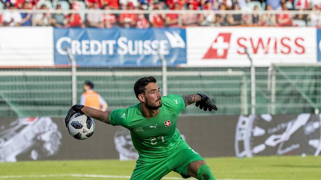 Roman Bürki verzichtet bis auf weiteres auf Einsätze für die Schweizer Nationalmannschaft