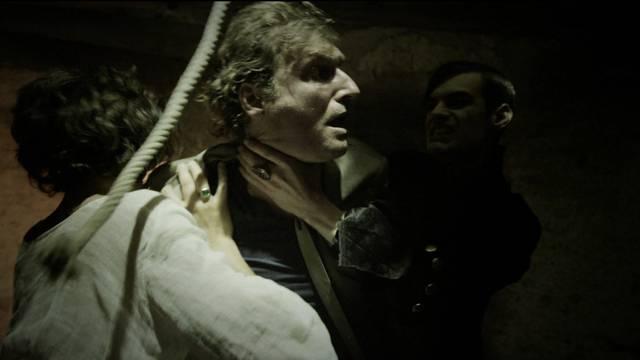 Showdown im Schloss Hallwyl: Brian D. Goff über die aus seiner Sicht beste Szene aus den bisherigen «Bestatter»-Folgen.