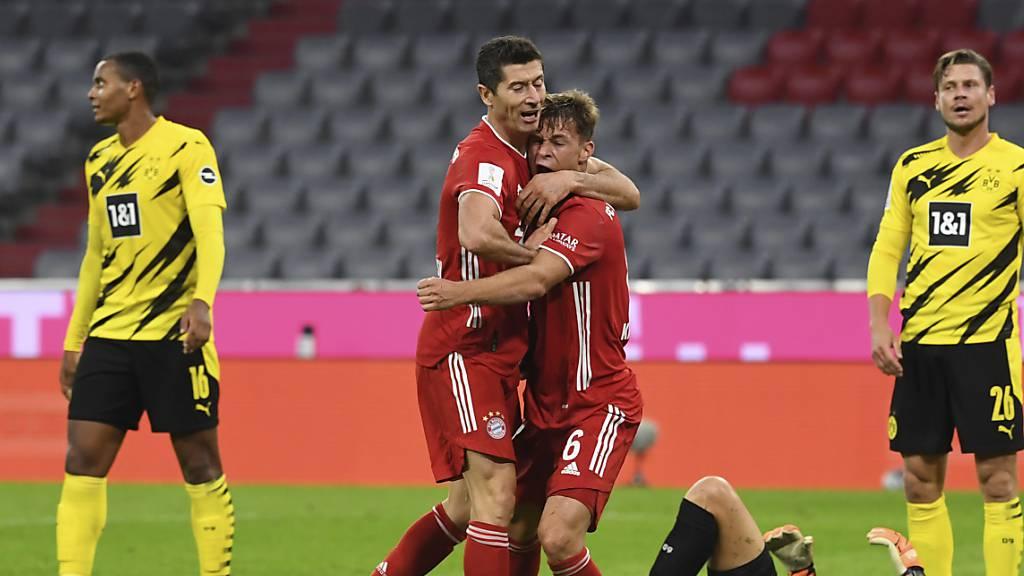 Bayern Sieger in spektakulärem Supercup