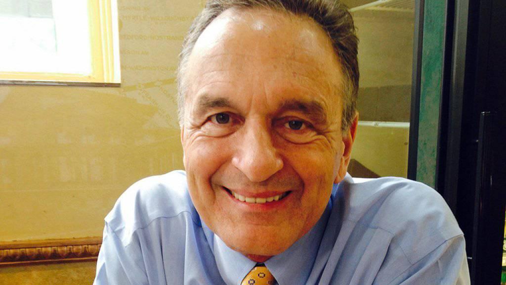 Subway-Gründer Fred DeLuca in einem Subway-Restaurant in New York im Mai 2014.