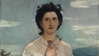 So sieht Liebe aus: Marie Elisabeth Brüstlein, gemalt von ihrem Lehrer Ernst Stückelberg.Martin P. Bühler/ Kunstmuseum Basel