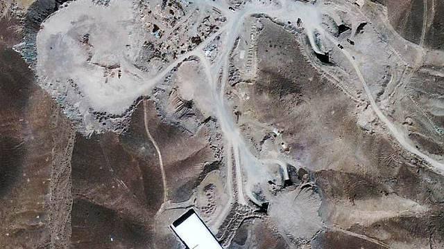 Atomanlage in Fordo bei Ghom im Iran (Archiv)