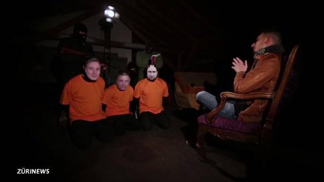 Zürcher Rapper schockiert mit satirischem Hinrichtungs-Video