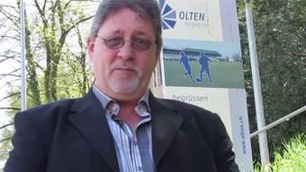 SVP-Gemeinderat Ernst Eggmann stellt in einem selbst produzierten Video die Fahrverbote in den Oltner Quartieren an den Pranger. HO