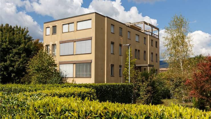 Das Gebäude des früheren Kinderheims Deitingen weicht einer Wohnüberbauung.