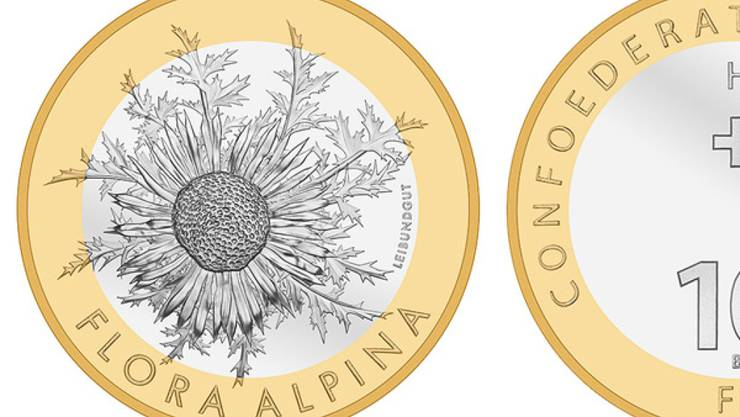 Die Silberdistel wird in diesem Jahr mit einer Sondermünze geehrt.