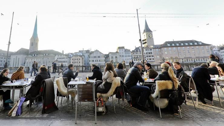 Was denken die Stadt Zürcher über ihr leben in der Limmatstadt?