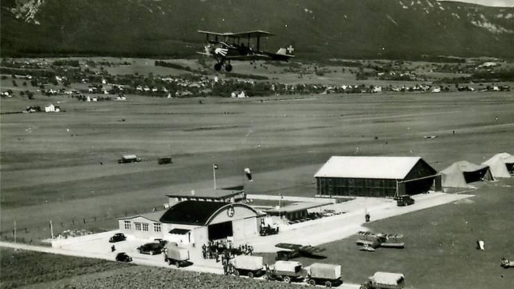Der Flughafen zwischen den zwei Weltkriegen ...