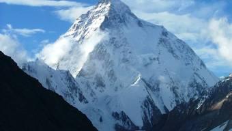 Paradies für Bergsteiger: In Pakistan stehen einige der höchsten Berger der Welt, darunter der berühmte über 8600 Meter hohe K2. (Archivbild)