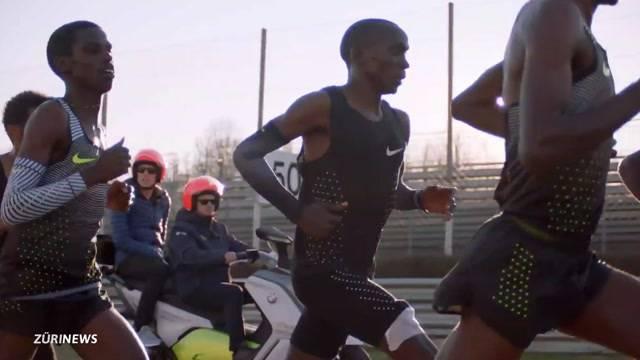 Marathon-Weltrekord: Renntempo-Test mit Hobbysportlern