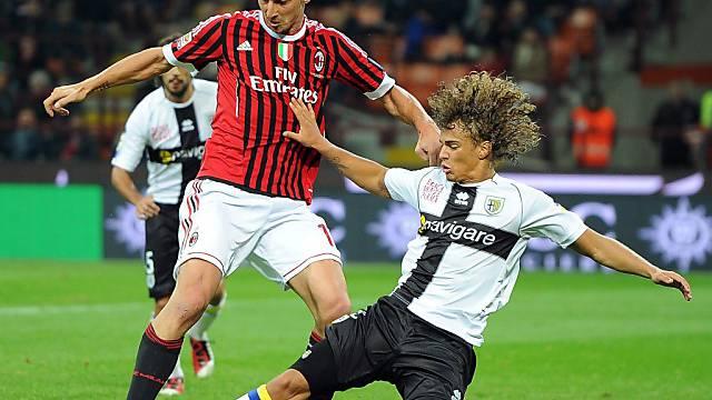 Rolf Feltscher sammelte u.a. Erfahrungen in der Serie mit Parma.