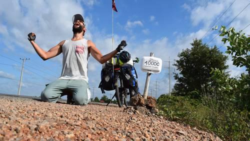 10'000 km Grenze in Kambodscha geknackt!