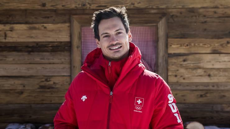 Der Aargauer Skiakrobat Dimitri Isler gehörte zum Schweizer Aerials-Team an den Olympischen Spielen in Pyeongchang.