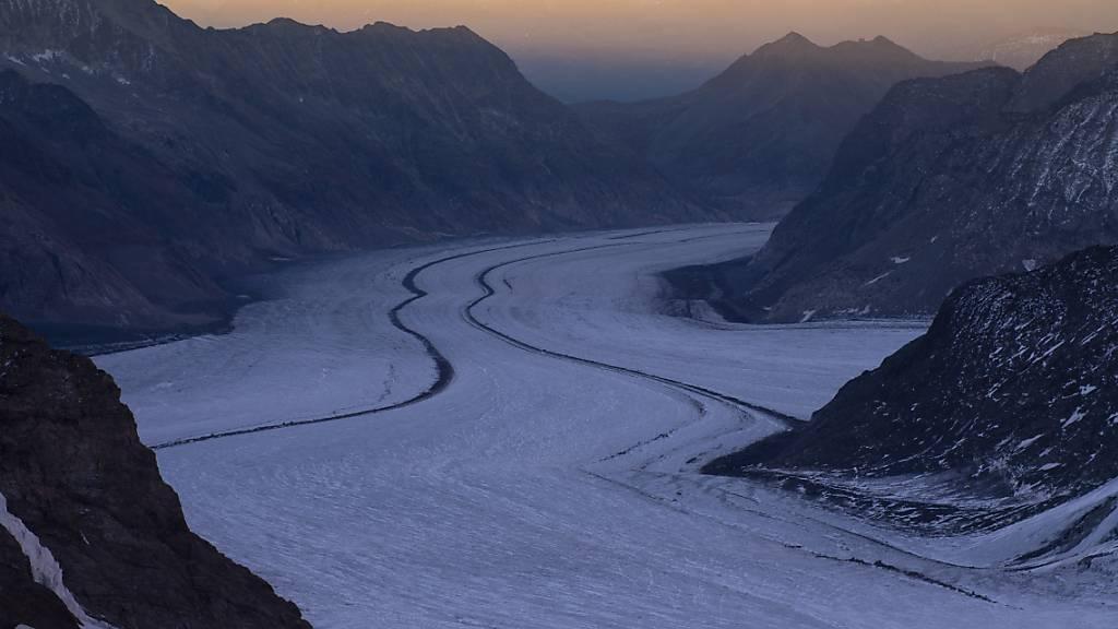Gletscher: Ein halbes Grad mehr Erwärmung macht viel aus
