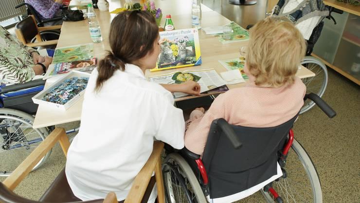 Die Pflegeheimtarife im Kanton Basel-Landschaft sind laut Vorlage national betrachtet hinter Genf die zweithöchsten. (Archiv)