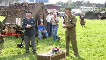 Sisseln ist der Mittelpunkt der Schweiz für einen Tag: Einzige D-Day-Feier