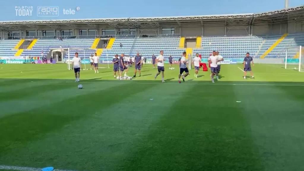 Das sagen Seferović und Vargas nach dem ersten Training in Baku