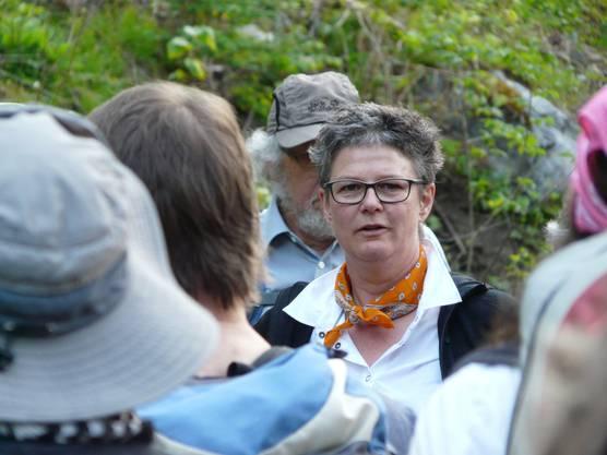 Hildegard Aepli ist die Hauptverantwortliche des Pilgerprojekts.